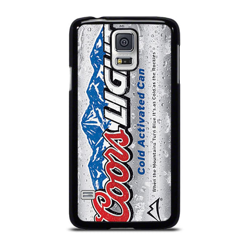coque custodia cover fundas hoesjes j3 J5 J6 s20 s10 s9 s8 s7 s6 s5 plus edge D18635 COORS LIGHT BEER #3 Samsung Galaxy S5 Case