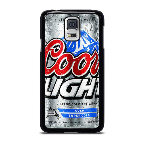 coque custodia cover fundas hoesjes j3 J5 J6 s20 s10 s9 s8 s7 s6 s5 plus edge D18654 COORS LIGHT BEER #4 Samsung Galaxy S5 Case