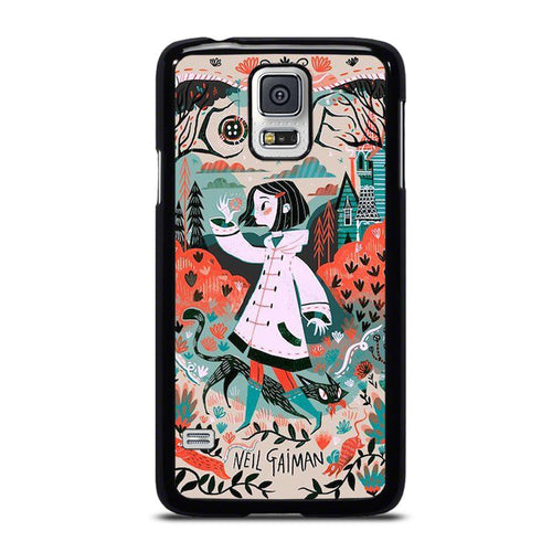 coque custodia cover fundas hoesjes j3 J5 J6 s20 s10 s9 s8 s7 s6 s5 plus edge D18707 CORALINE CARTOON #1 Samsung Galaxy S5 Case