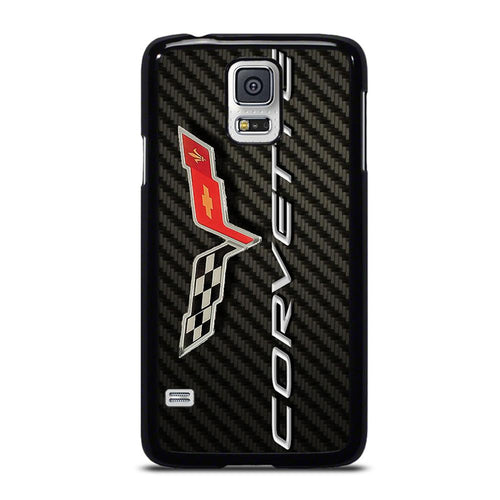 coque custodia cover fundas hoesjes j3 J5 J6 s20 s10 s9 s8 s7 s6 s5 plus edge D19001 CORVETTE CARBON Samsung Galaxy S5 Case