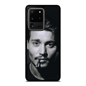coque custodia cover fundas hoesjes j3 J5 J6 s20 s10 s9 s8 s7 s6 s5 plus edge D19911 CUTE JOHNNY DEPP ACTOR Samsung Galaxy S20 Ultra Case