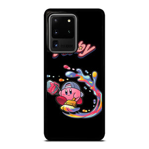 coque custodia cover fundas hoesjes j3 J5 J6 s20 s10 s9 s8 s7 s6 s5 plus edge D19930 CUTE KIRBY PAINT CHARACTERS #1 Samsung Galaxy S20 Ultra Case