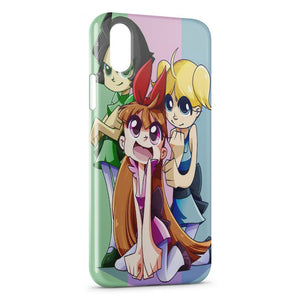 Custodia Cover iPhone XR Powerpuff Girls