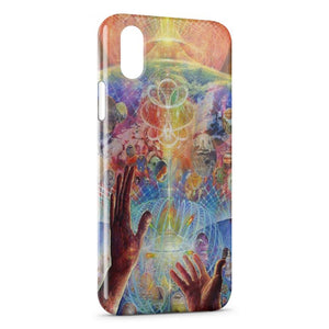Custodia Cover iPhone XR Psychedelic Style 3