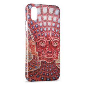 Custodia Cover iPhone XR Psychedelic Style 4