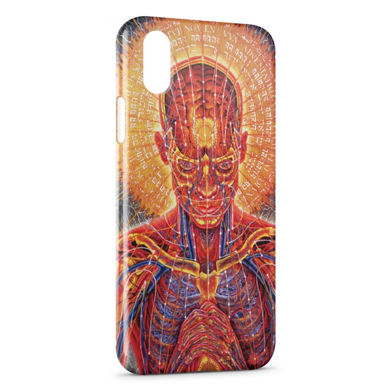 Custodia Cover iPhone XR Psychedelic Style 5
