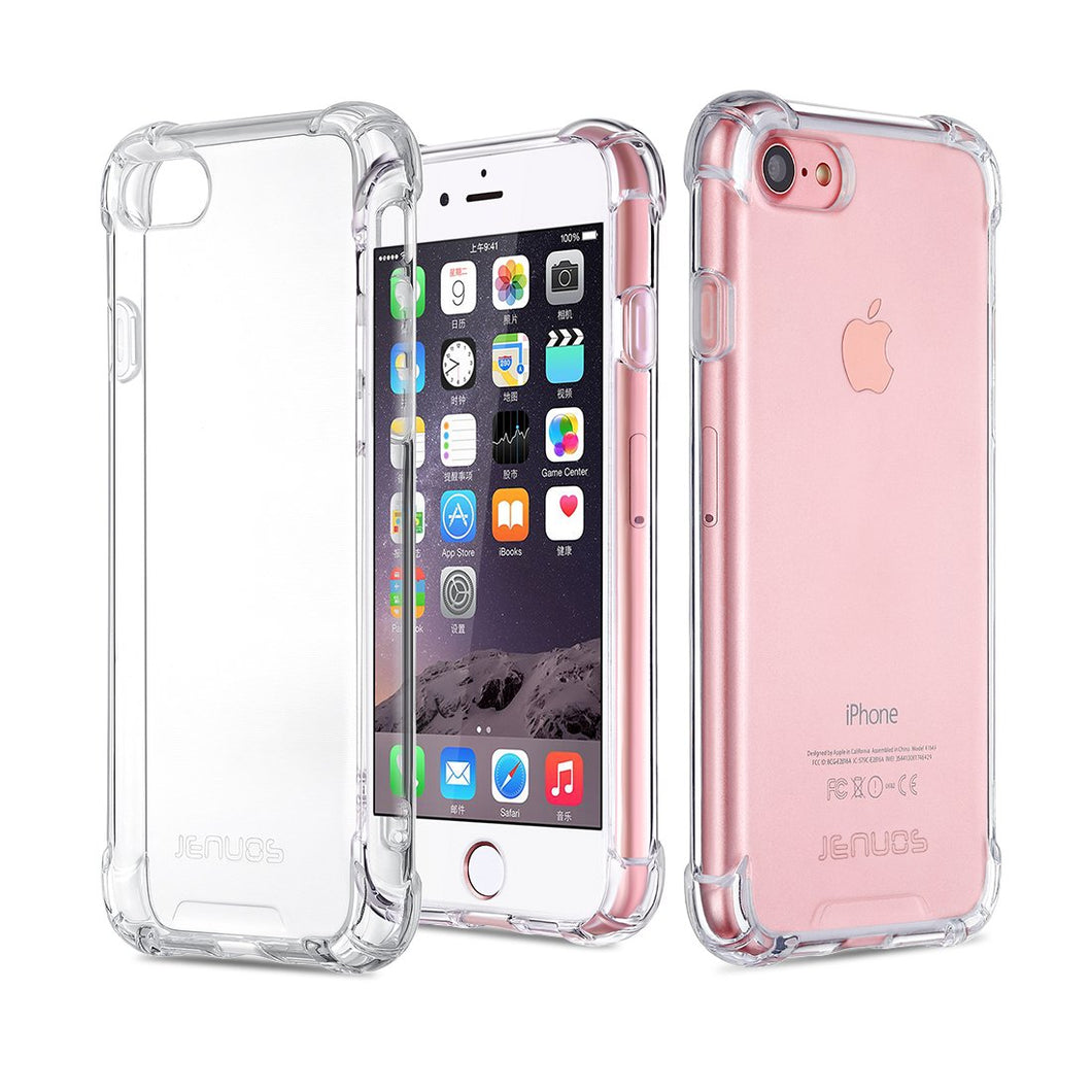 Cover iPhone 8 Cover iPhone 7 Custodia Jenuos Trasparente