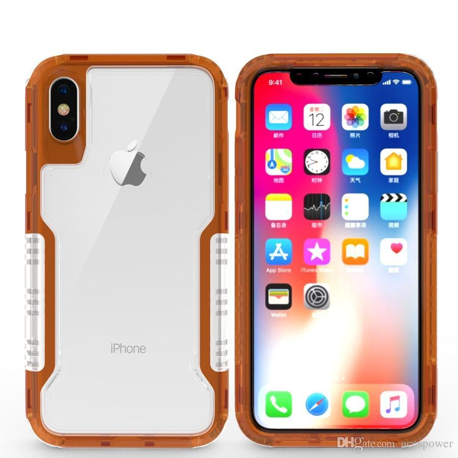 Custodia Telefono Impermeabile Custodia Posteriore IPhone X