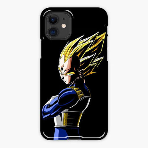 Custodia Cover iphone 11 Pro Max Dragon Ball Z Vegeta