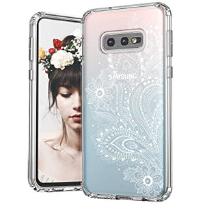 Henna Floral Paisley Print Flower Transparent Clear Case Cover