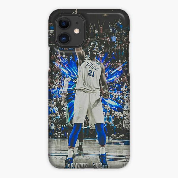 Custodia Cover iphone 11 Pro Max Joel Embiid Philadelphia 76ers Nba Basketball