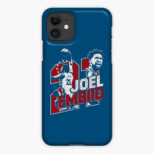 Custodia Cover iphone 11 Pro Max Joel Embiid Philadelphia 76ers Nba Star