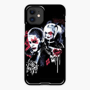 Custodia Cover iphone 11 Pro Max Joker And Harley Quinn Birds Of Prey Painted Graffiti