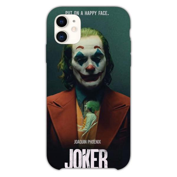 Custodia Cover iphone 11 Pro Max Joker Put On A Happy Face Quote 2019