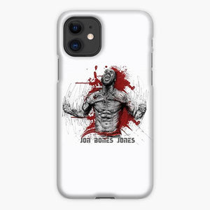 Custodia Cover iphone 11 Pro Max Jon Bones Jones Sketch Watercolor
