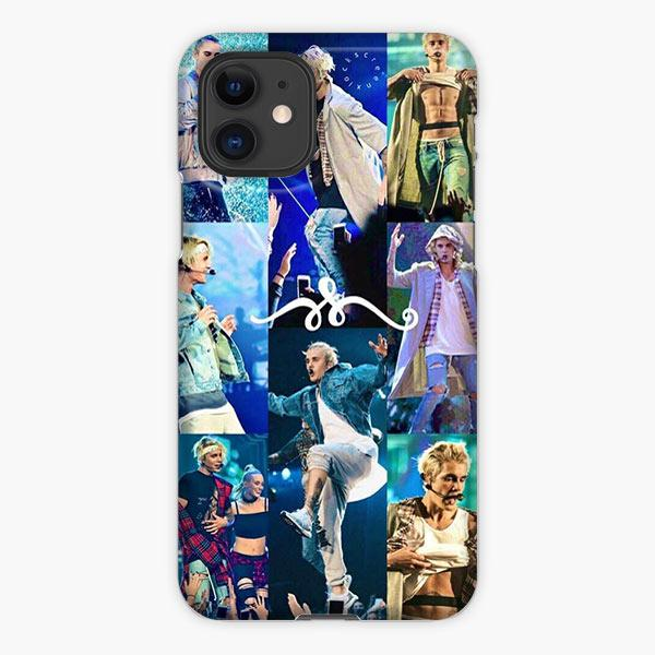 Custodia Cover iphone 11 Pro Max Justin Bieber Photo Collage