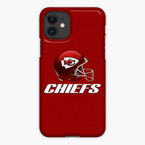 Custodia Cover iphone 11 Pro Max Kansas City Chiefs Logo Helmet Red