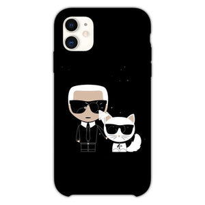 Custodia Cover iphone 11 Pro Max Karl Lagerfeld Wasn'T The Only Star