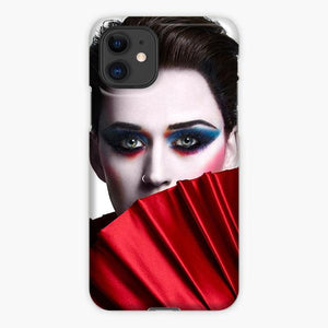 Custodia Cover iphone 11 Pro Max Katy Perry Dreess Red Full Make Up