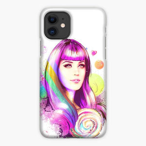 Custodia Cover iphone 11 Pro Max Katy Perry Rainbow Watercolor