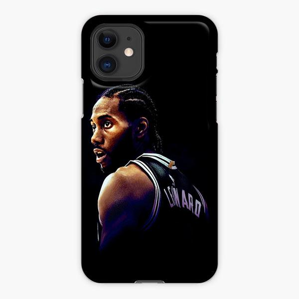 Custodia Cover iphone 11 Pro Max Kawhi Leonard Los Angeles Clippers The Black