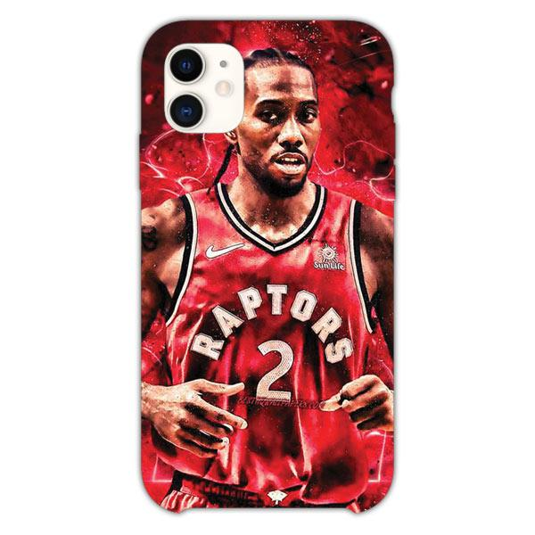 Custodia Cover iphone 11 Pro Max Kawhi Leonard Toronto Raptors