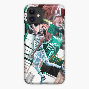 Custodia Cover iphone 11 Pro Max Kemba Walker Boston Celtics Collage Photo