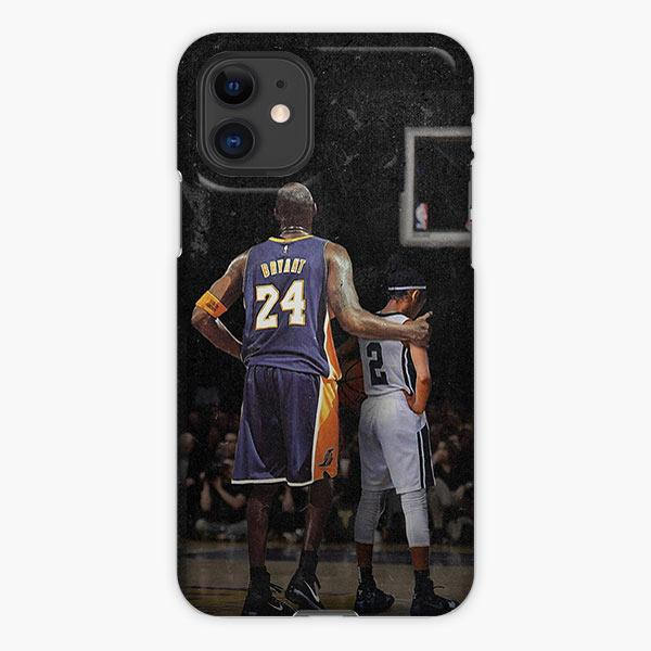 Custodia Cover iphone 11 Pro Max Kobe Bryant And Giana Bryant Basketball Court