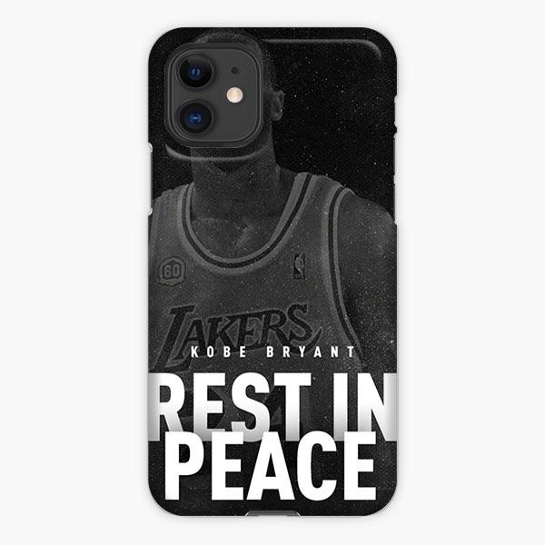 Custodia Cover iphone 11 Pro Max Kobe Bryant La Laker Rest In Peace