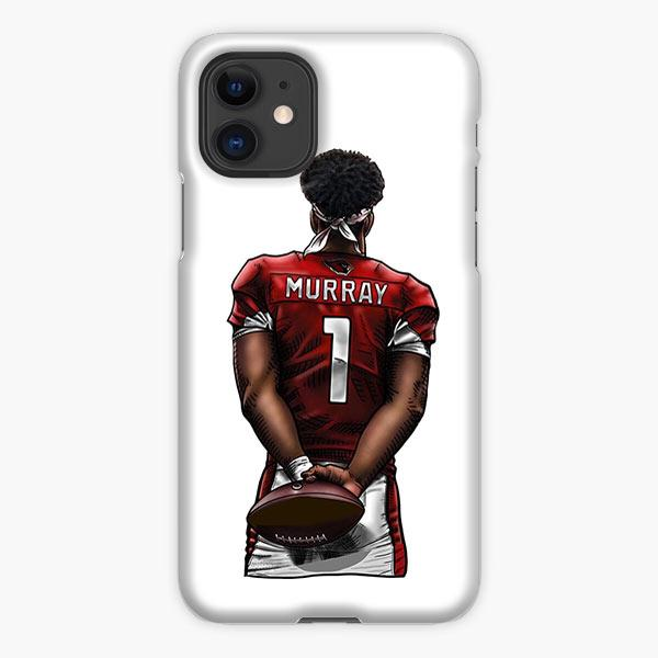 Custodia Cover iphone 11 Pro Max Kyler Murray 01 White Red