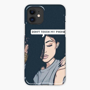 Custodia Cover iphone 11 Pro Max Kylie Jenner Don'T Touch My Phone Ilustration