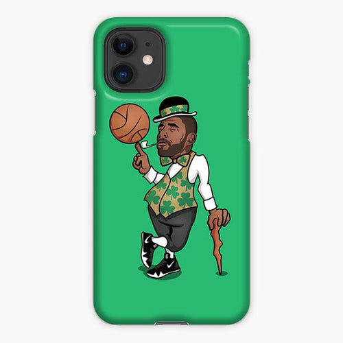 Custodia Cover iphone 11 Pro Max Kyrie Irving Boston Celtics Art Cartoon