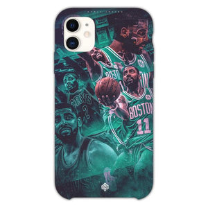 Custodia Cover iphone 11 Pro Max Kyrie Irving Boston Celtics Collage Art