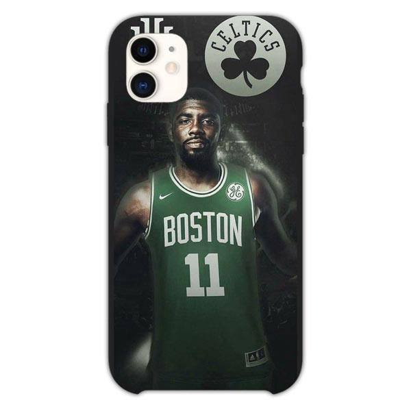 Custodia Cover iphone 11 Pro Max Kyrie Irving Boston Celtics Logo