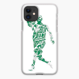 Custodia Cover iphone 11 Pro Max Kyrie Irving Boston Celtics Sketch Green Grey