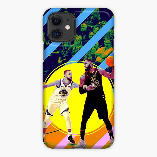 Custodia Cover iphone 11 Pro Max Lebron James Steph Curry Strips