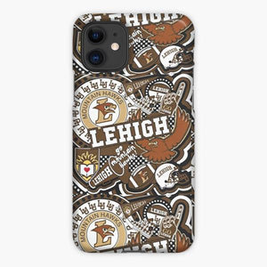 Custodia Cover iphone 11 Pro Max Lehigh Collage Pattern