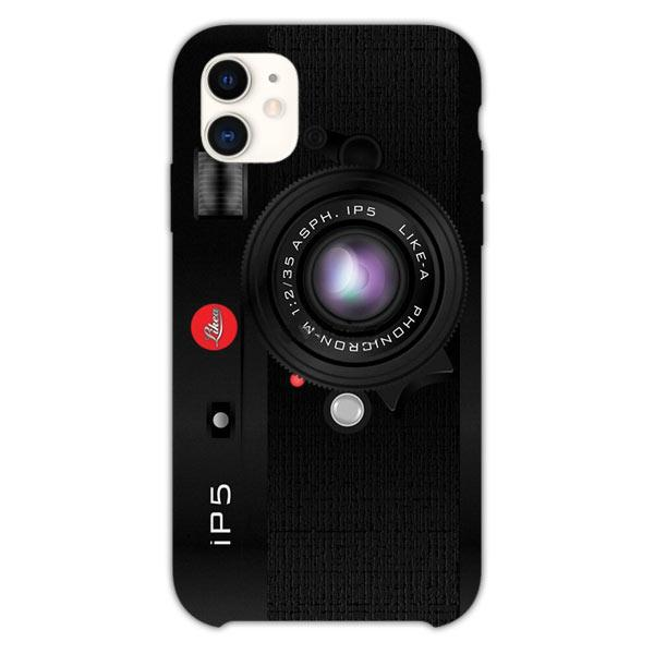 Custodia Cover iphone 11 Pro Max Like A Camera Retro Black