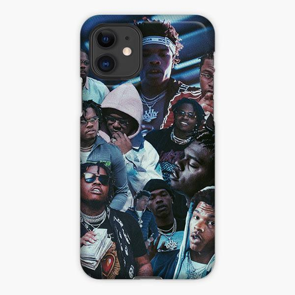 Custodia Cover iphone 11 Pro Max Lil Baby Photo Collage Meme