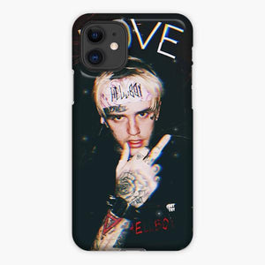 Custodia Cover iphone 11 Pro Max Lil Peep Cry Love Black