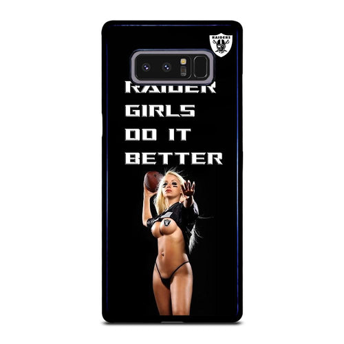coque custodia cover fundas hoesjes j3 J5 J6 s20 s10 s9 s8 s7 s6 s5 plus edge D39061 RAIDER GIRLS DO IT BETTER Samsung Galaxy Note 8 Case