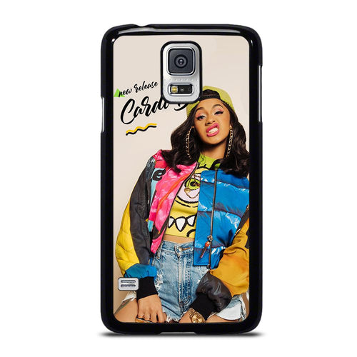 coque custodia cover fundas hoesjes j3 J5 J6 s20 s10 s9 s8 s7 s6 s5 plus edge D39085 RAPPER CARDI B #5 Samsung Galaxy S5 Case