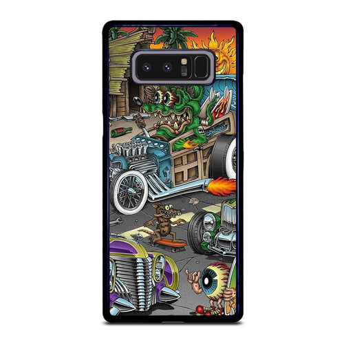 coque custodia cover fundas hoesjes j3 J5 J6 s20 s10 s9 s8 s7 s6 s5 plus edge D39165 RAT FINK SPEEDLESS #2 Samsung Galaxy Note 8 Case
