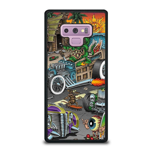 coque custodia cover fundas hoesjes j3 J5 J6 s20 s10 s9 s8 s7 s6 s5 plus edge D39166 RAT FINK SPEEDLESS #2 Samsung Galaxy Note 9 Case