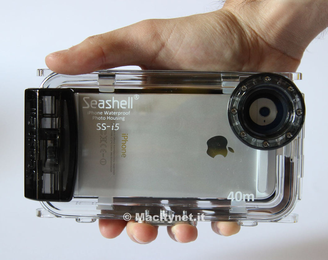 Seashell SS-I5 la custodia impermeabile per fare foto e video