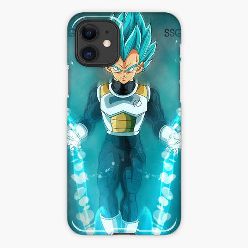 Custodia Cover iphone 11 Pro Max Ssblue Vegeta Smile