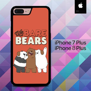 We Bare Beras Team O0975 custodia cover iPhone 7 Plus , iPhone 8 Plus