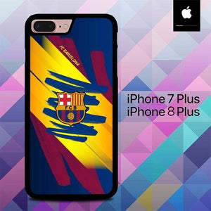 FC Barcelona O1044 custodia cover iPhone 7 Plus , iPhone 8 Plus