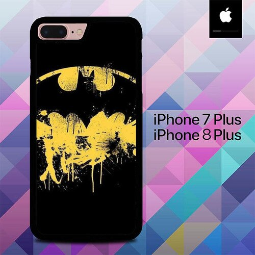 Logo Batman Sign O1298 custodia cover iPhone 7 Plus , iPhone 8 Plus