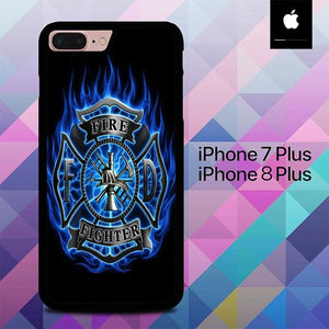 Fire Fighters O3216 custodia cover iPhone 7 Plus , iPhone 8 Plus